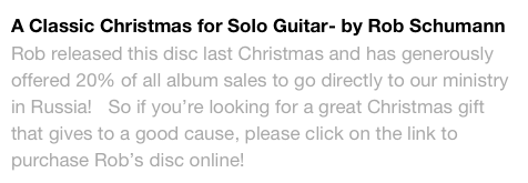 A Classic Christmas for Solo Guitar- by Rob Schumann