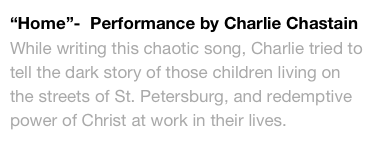 """Home""-  Performance by Charlie Chastain